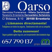 Funeraria Oarso
